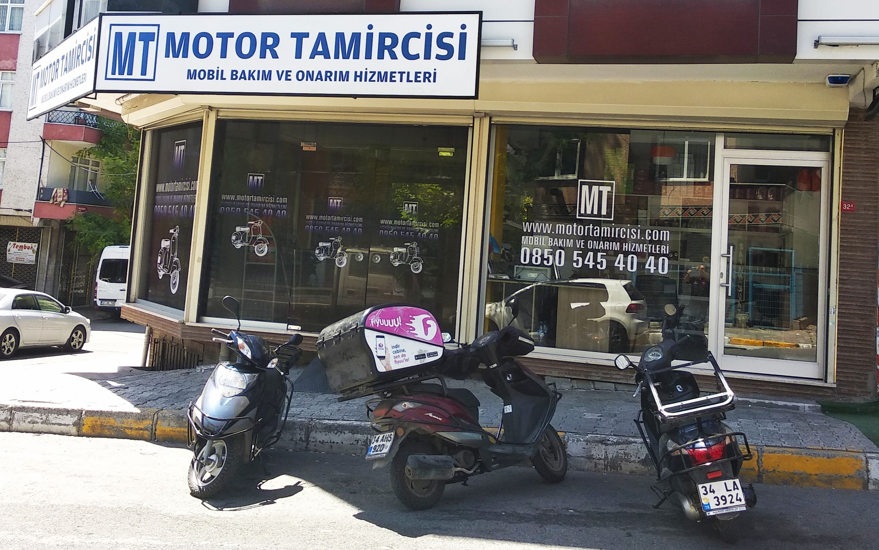 motor tamircisi servis bakım hizmetleri motor kiralama